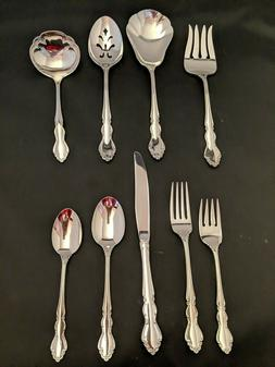 Oneida Dover Shiny Flatware Your Choice Stainless Steel